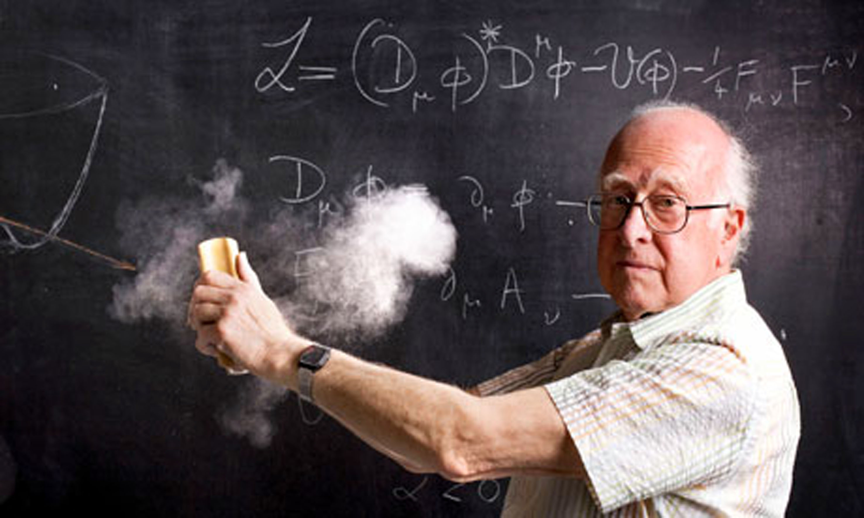 Professor Peter Higgs, Scotland