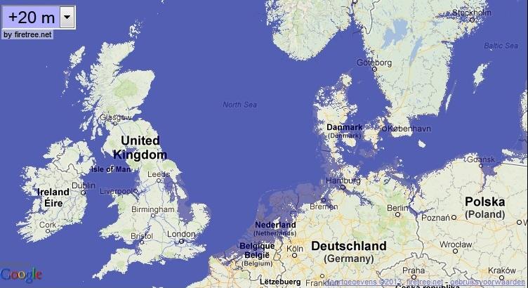 Sea Level Rise Vs Atmospheric CO NaturPhilosophie - Sea level rise map 2050